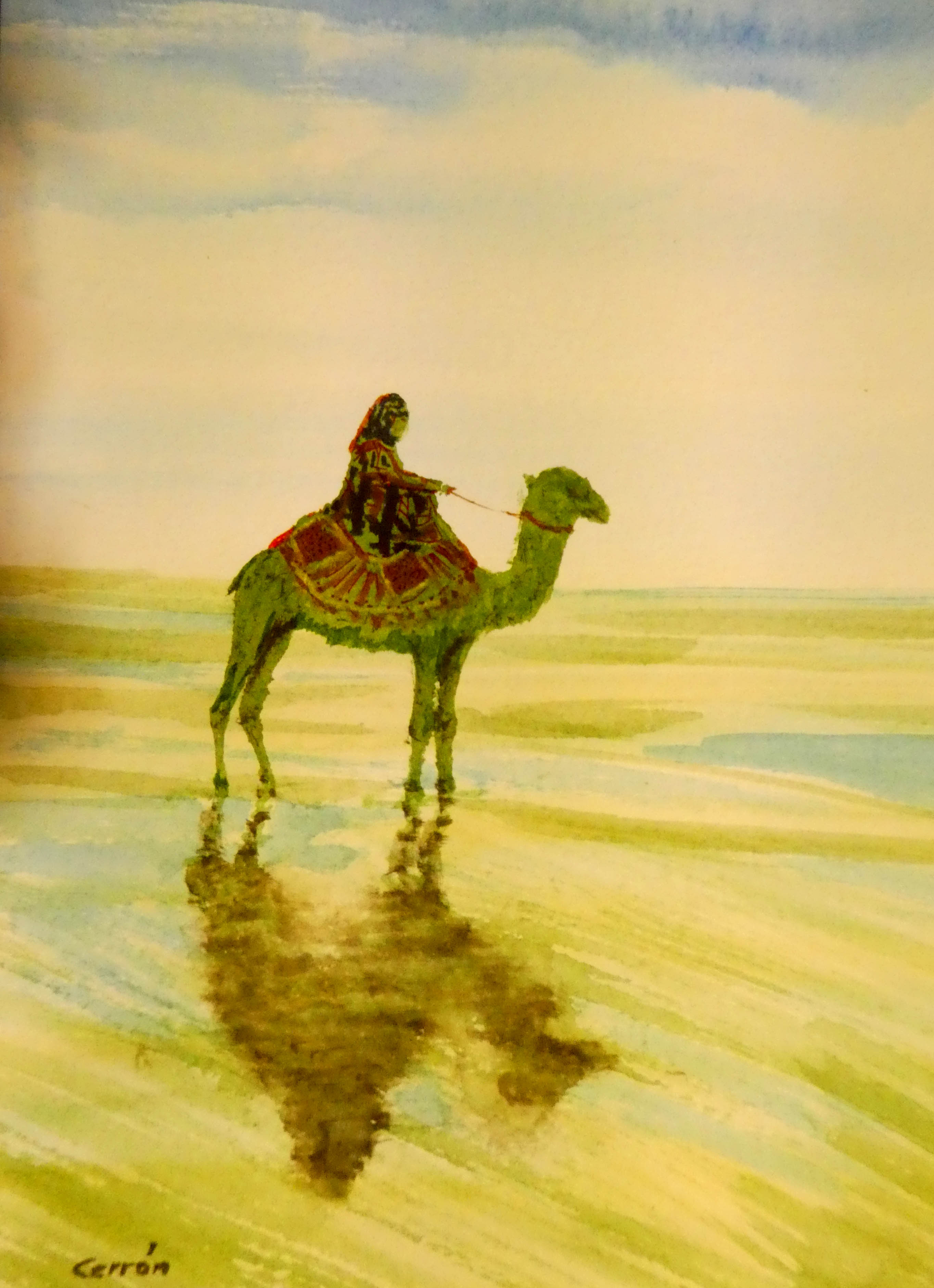 Acuarela Camello