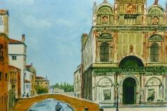 Acuarela Venecia